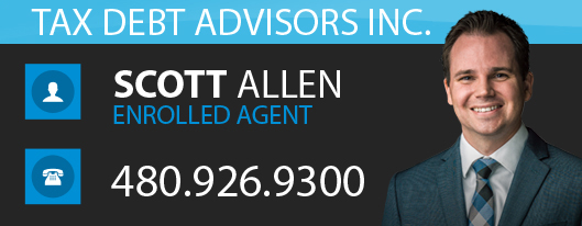 Tax Debt Advisors Mesa - Scott Allen